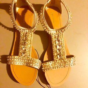 Express sandals size 9 new